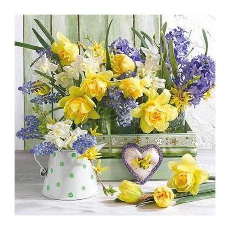 SERVILLETAS- Mix Of Flower