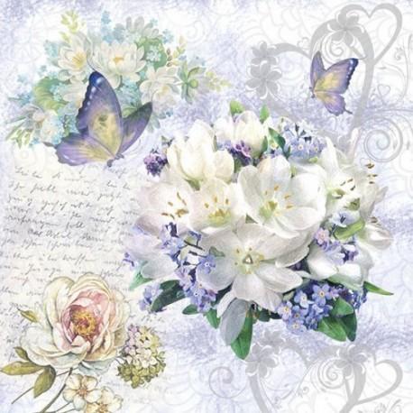 SERVILLETAS- Flower Love