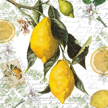 SERVILLETAS- Lemon