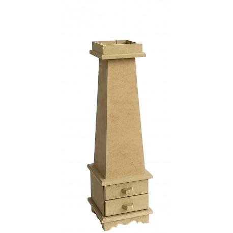 Portavelas 11x11x39 DM CADENCE