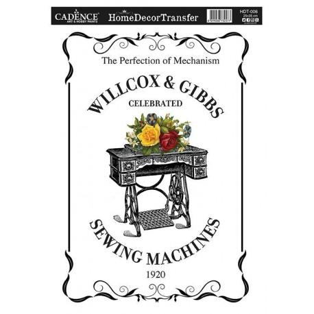 Transfer HOME DECOR  Sewing Machine