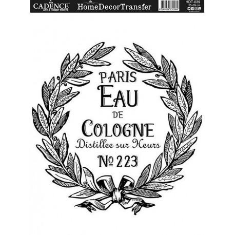 Transfer HOME DECOR  Eau de Cologne