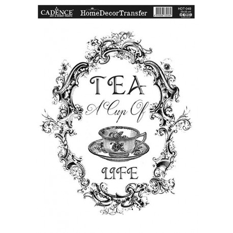 Transfer HOME DECOR  Tea