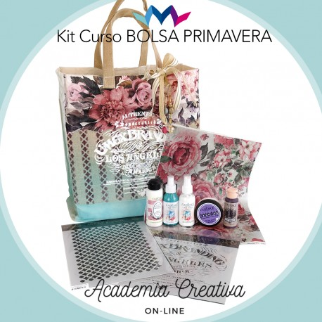Kit Bolsa Primavera ACADEMIA CREATIVA