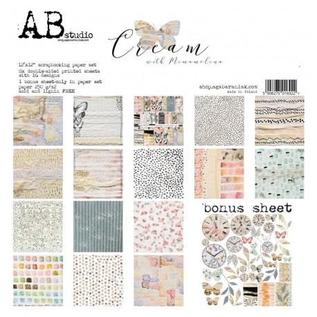 Cream AB STUDIO 30x30 8und.