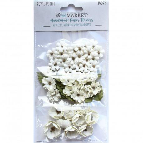 49&Market Royal Posies-Ivory