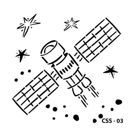 KIDS SPACE STENCIL SERIES CSS-03 15X15