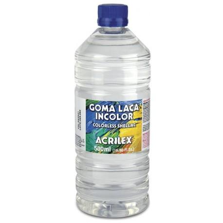 Goma laca incolora 500 ml ACRILEX