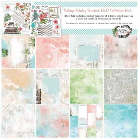 49&market Beached 12x12 Collection Pack