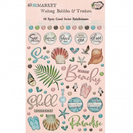 49&market Beached-Wishing Bubbles and Trinkets