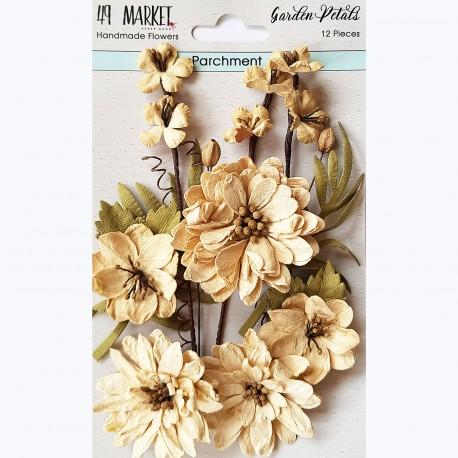 49&market Garden Petals-Parchments