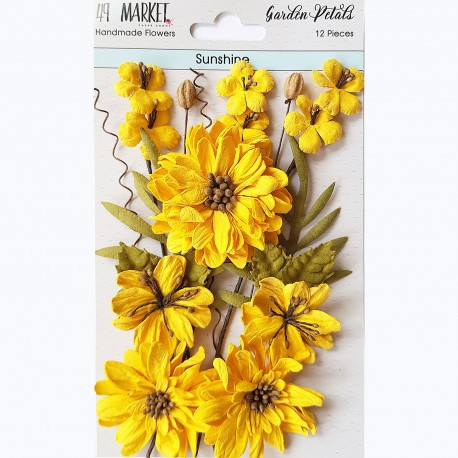 49&market Garden Petals-Sunshine