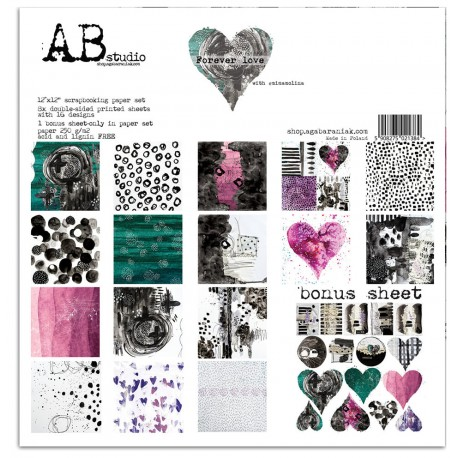 Forever Love AB STUDIO 30x30 8uds.