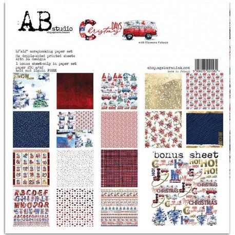 Christmas Days AB STUDIO 30X30 8uds.