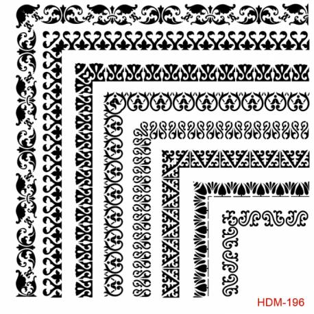 Stencil CADENCE 25X25 cm HDM196