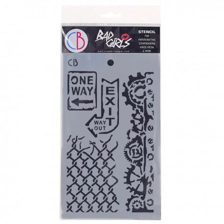 """Texture Stencil 5""""x8"""" One Way"""