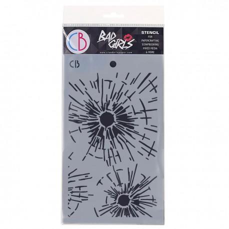 """Texture Stencil 5""""x8"""" Bulletproof"""