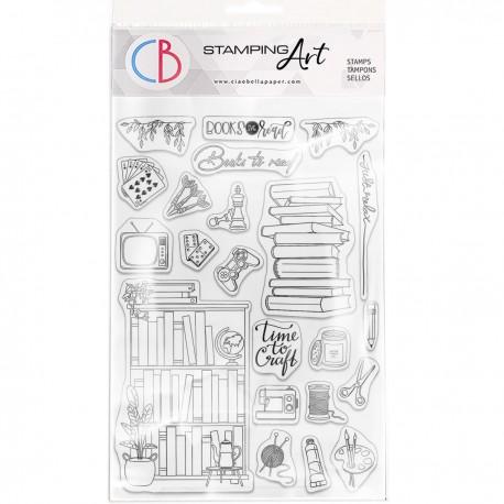 "Clear Stamp Set 6""x8"" BuJo Craft & Hobbies"