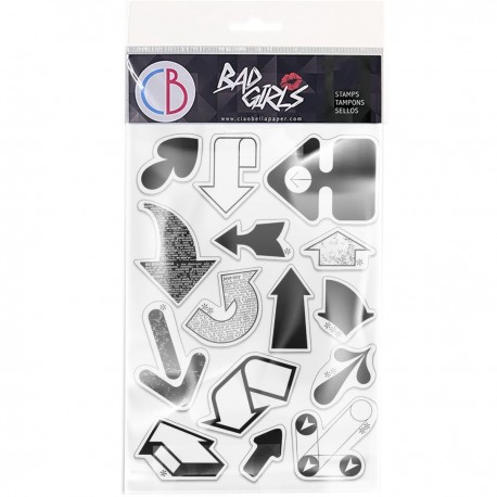 """Clear Stamp Set 4""""x6"""" Arrows"""