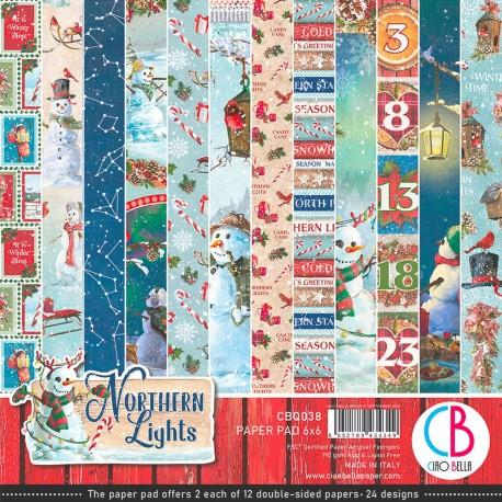 "Northern Lights Paper Pad 6""x6"" 24/Pkg"