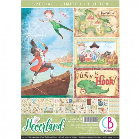 Neverland Limited Edition Creative Pad A4 9/Pkg