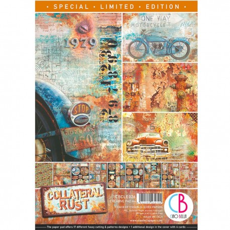 Collateral Rust Limited Edition Creative Pad A4 9/
