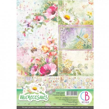 Microcosmos Creative Pad A4 9/Pkg