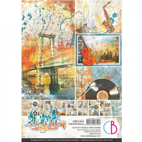 Blue Note Creative Pad A4 9/Pkg