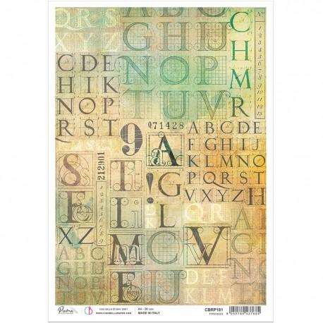 Rice Paper A4 Typefaces