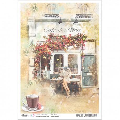 Rice Paper A4 Café de Paris