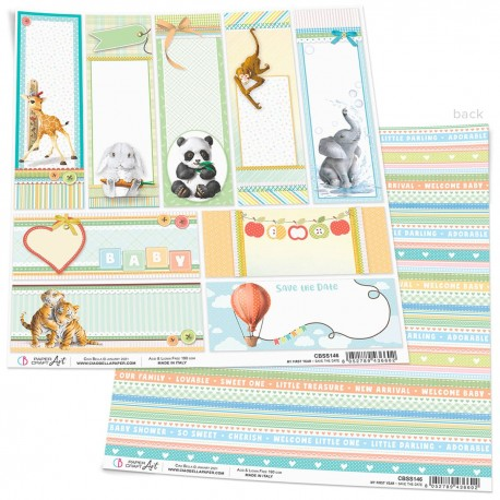 """Save the Date Paper Sheet 12""""x12"""""""