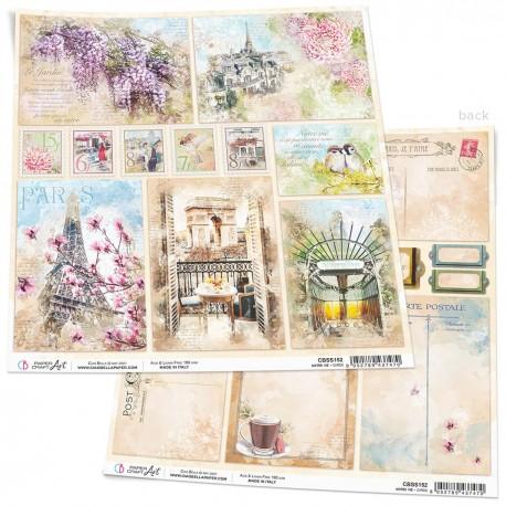 "Notre Vie Cards Paper Sheet 12""x12"""