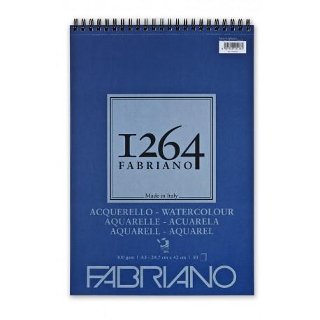 F-1264 Acuarela 25% algodón 300G A3, 30 h.-ESP
