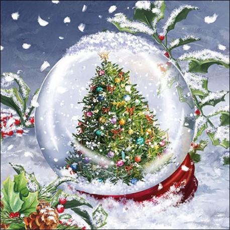 SERVILLETA Noël de Servietten Wimmel