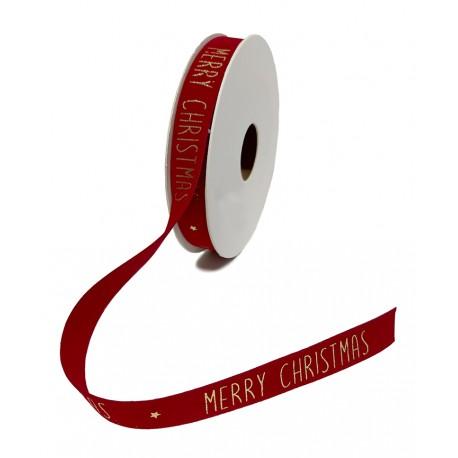 Cinta VELLU CHRISTMAS 5x15mm