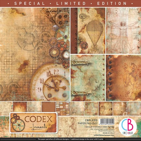 "Codex Leonardo LIMITED EDITION 12""x12"""