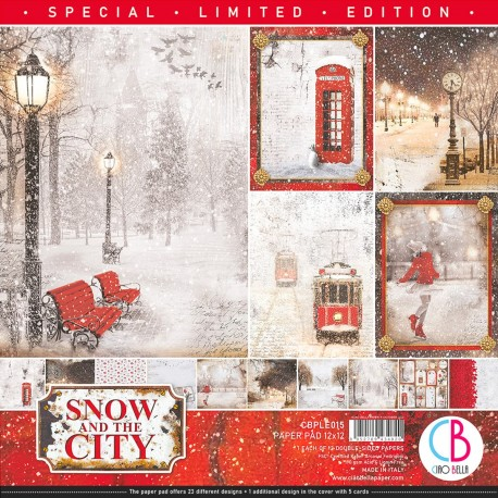 """Snow and the City Limited Edition Paper Pad 12""""x12"""