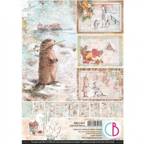 The Gift of Love Creative Pad A4 9/Pkg