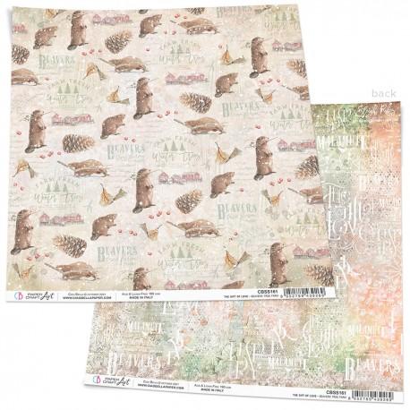"Beavers Tree Farm Paper Sheet 12""x12"""