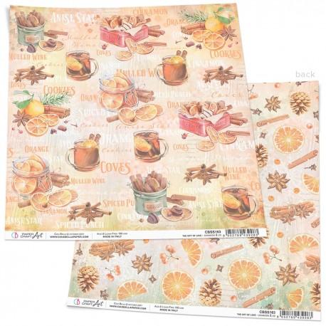 "Cinnamon & Co Paper Sheet 12""x12"""