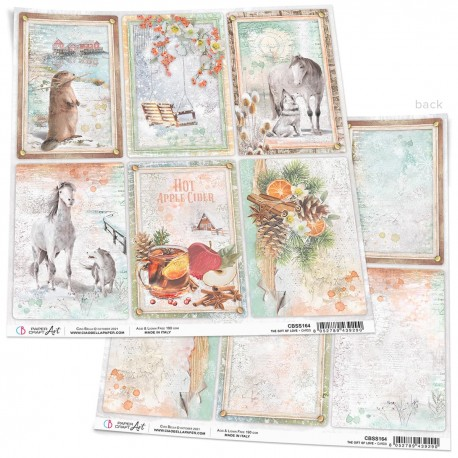 """The Gift of Love Paper Sheet 12""""x12"""""""