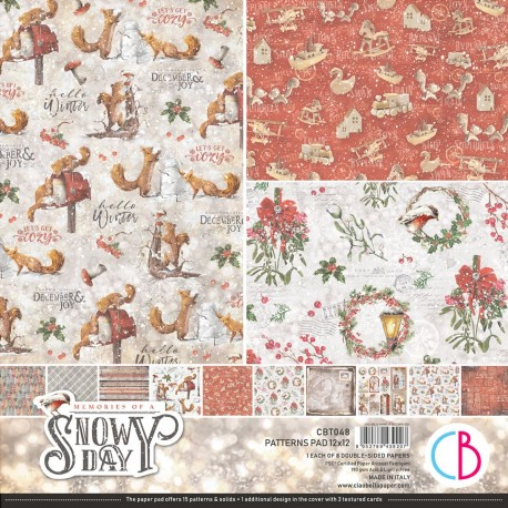 """Memories of a Swony Day Patterns Pad 12""""x12"""" 8/Pkg"""