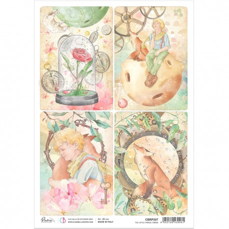 Rice Paper A4 The Little Prince Cards