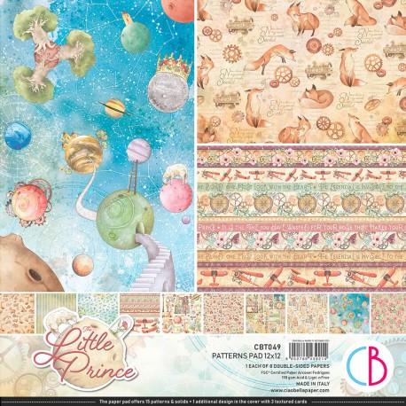 "The Little Prince Patterns Pad 12""x12"" 8/Pkg"