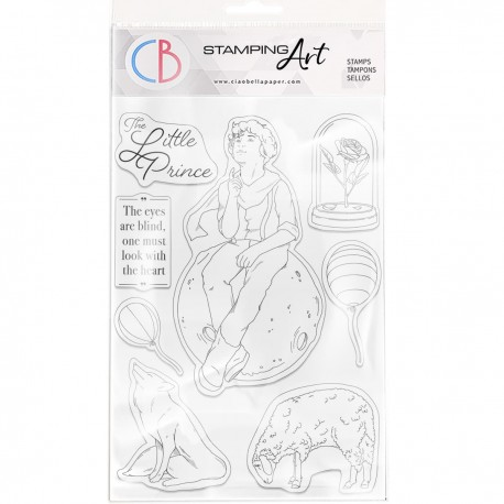 """Clear Stamp Set 6""""x8"""" The Little Prince"""