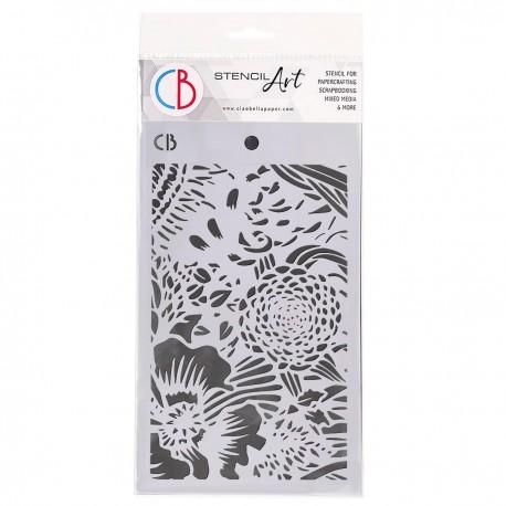 "Texture Stencil 5""x8"" Tulum"