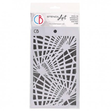 "Texture Stencil 5""x8"" Palm Leaves"