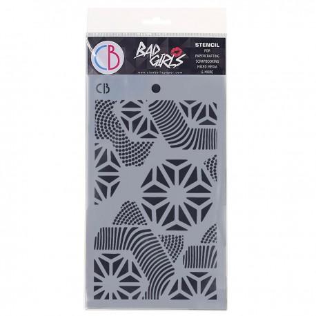 "Texture Stencil 5""x8"" Hexagon"