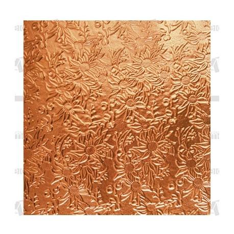 Planchas aluminio cobre troqueladas 58x35