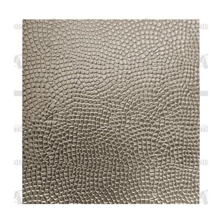 Planchas aluminio plata troqueladas 58x35